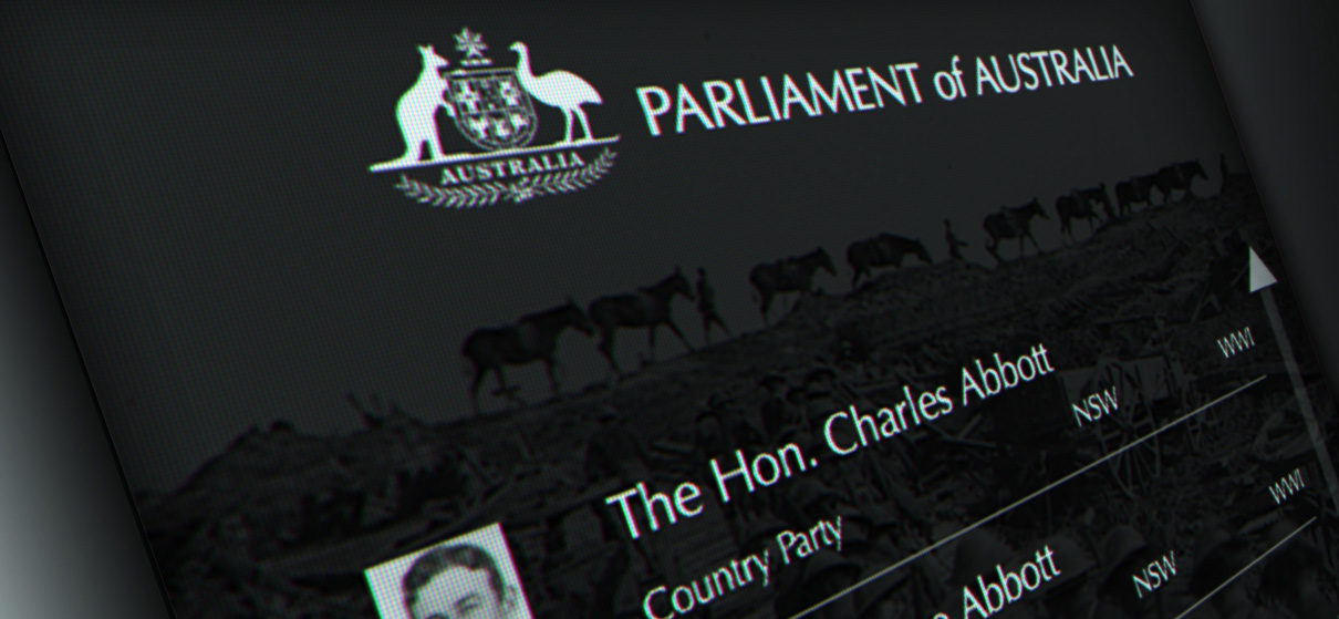 Department of Parliamentary Services, Parliamentarians Who Served - Mental Media
