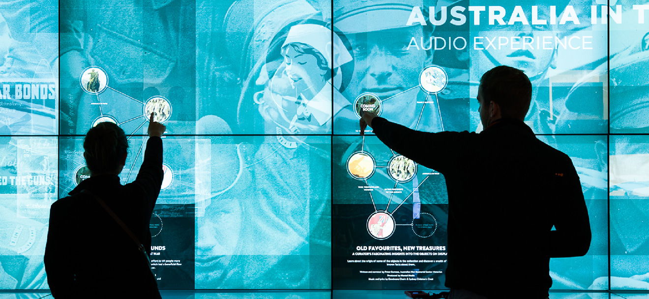Visitor Audio Experience at the Australian War Memorial - Mental Media
