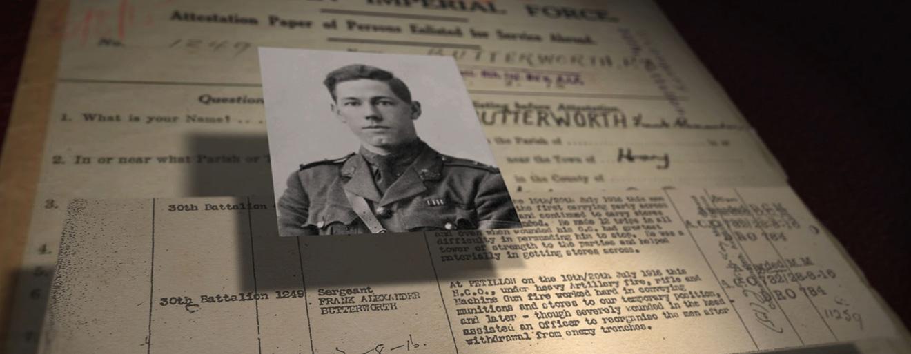 Hay War Memorial High School Museum, Frank Butterworth - Mental Media